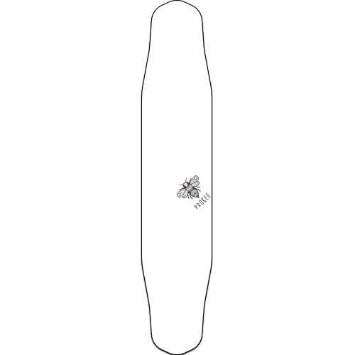 "CANDLE DRAGON 44"" WHITE 유리섬유 DECK"