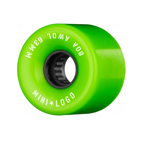Mini Logo AWOL 63mm 80A GREEN
