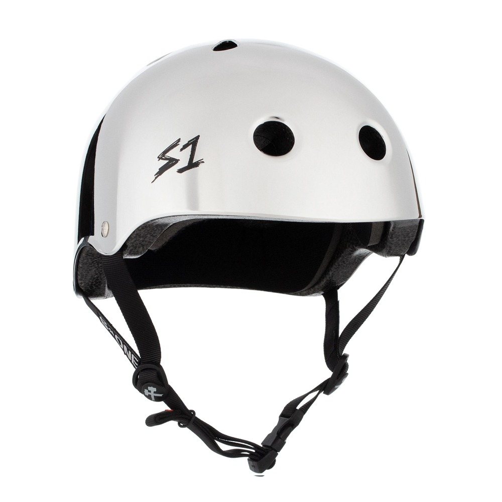 S1 LIFER HELMET - SILVER MIRROR